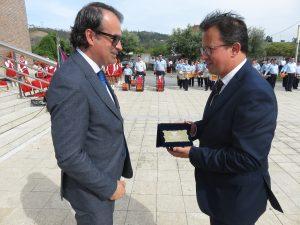 O presidente da câmara foi uma das figuras homenageadas na cerimónia