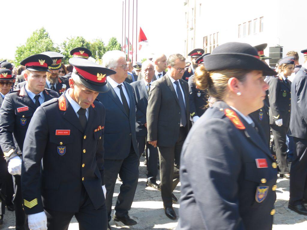 Ministro da Administração Interna, Eduardo Cabrita, esteve presente