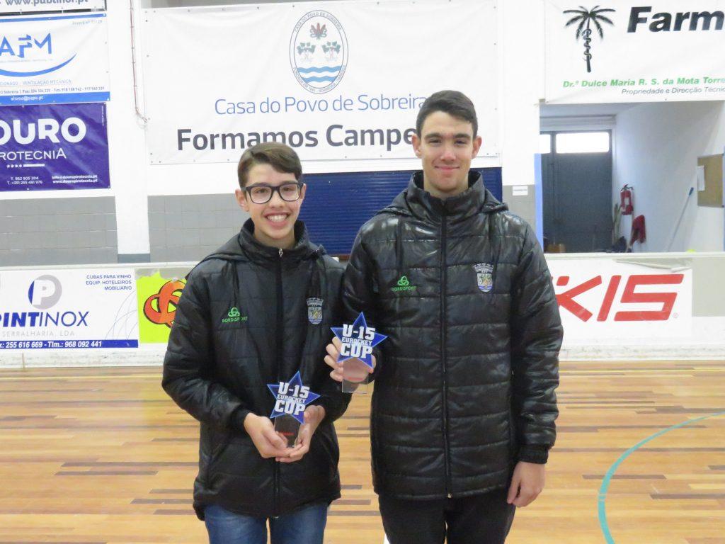 Rafael Nogueira e Guilherme Moreira conquistaram o primeiro troféu internacional