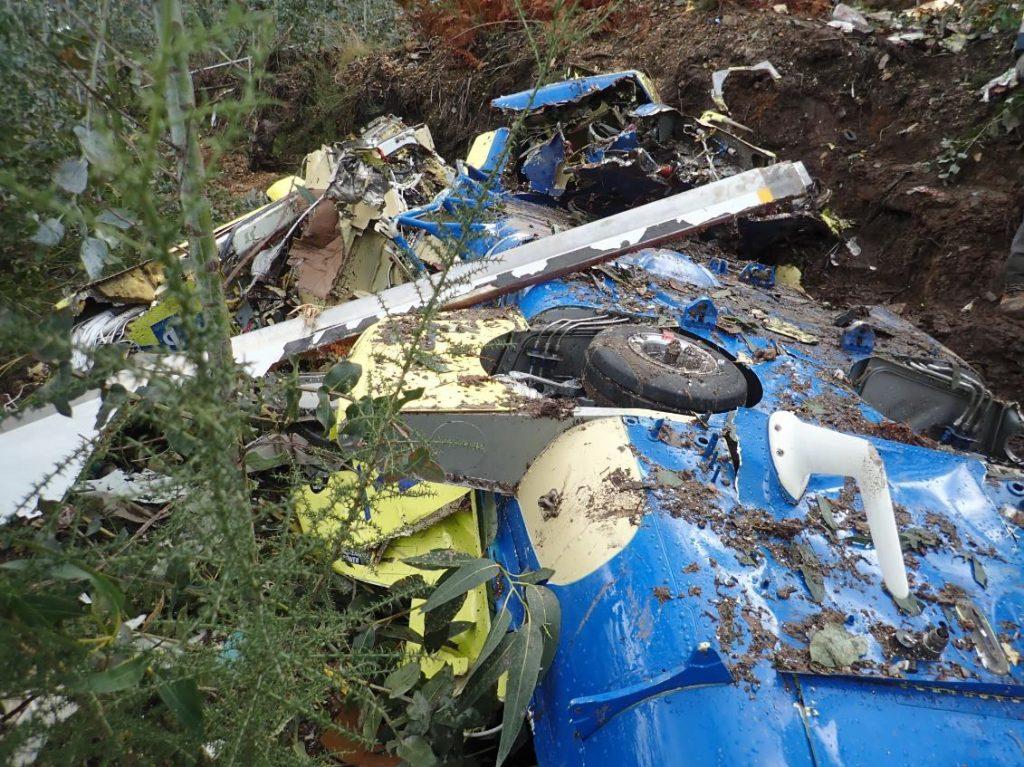 Foto: Relatório do Gabinete de Prevenção e Investigação de Acidentes com Aeronaves e de Acidentes Ferroviários